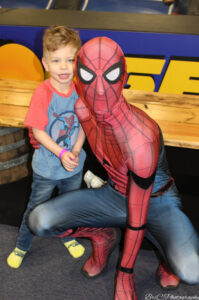 Toddler Time (Character Event): Spiderman and Cinderella